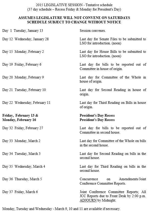 Schedule2015